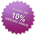 Sconto del 10%  wellness beauty